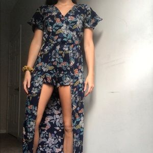 Floral maxi dress - Angie
